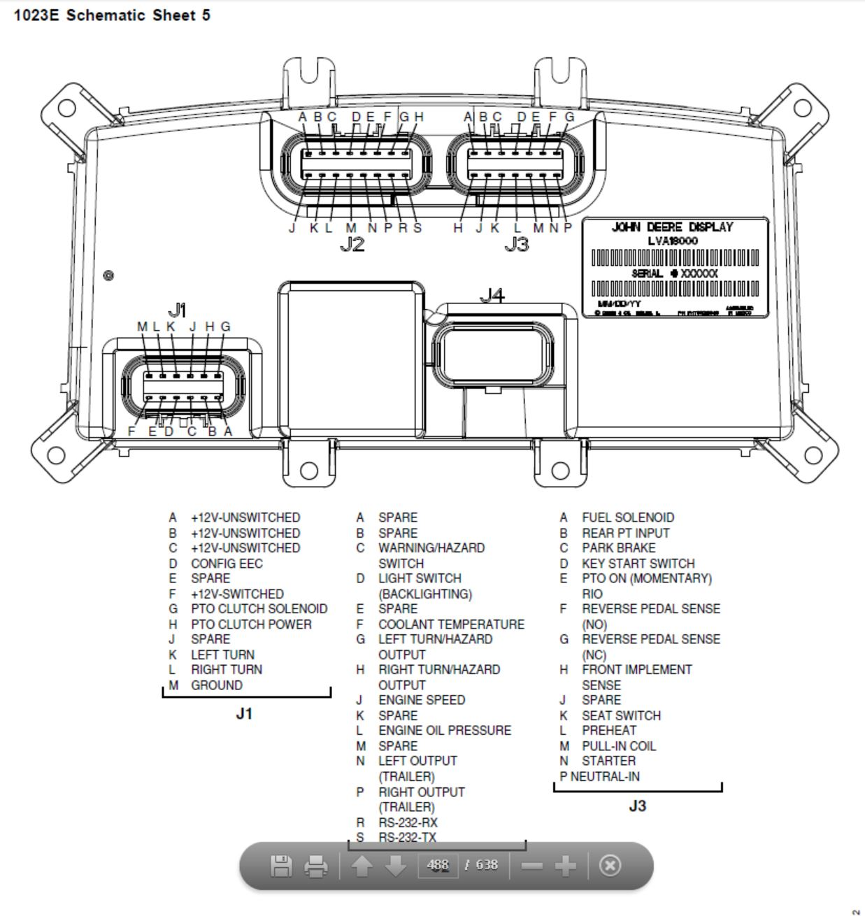 Wiring Diagram For John Deere 1023e. Wiring Diagram For