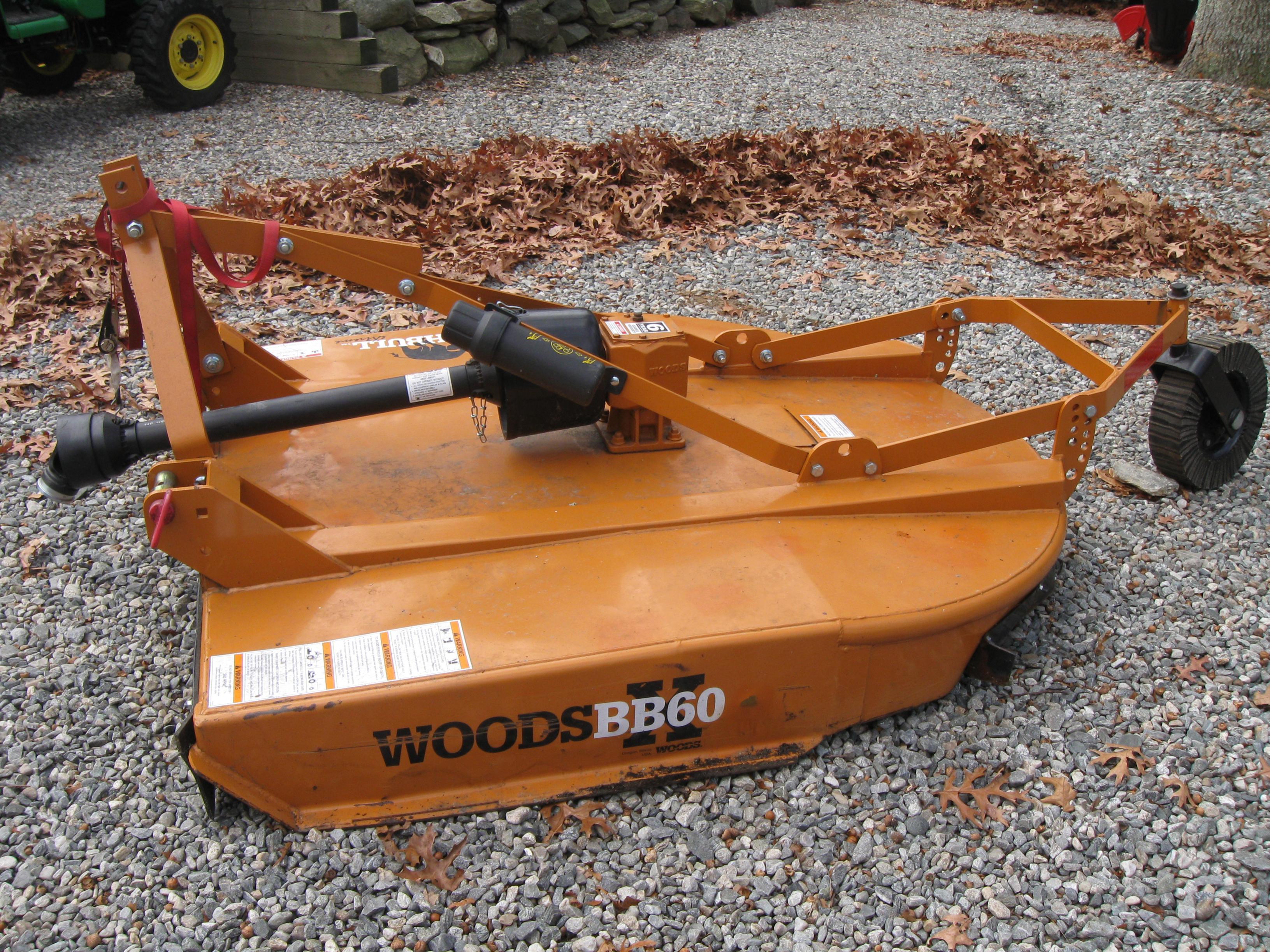 Woods Brush Bull 60x