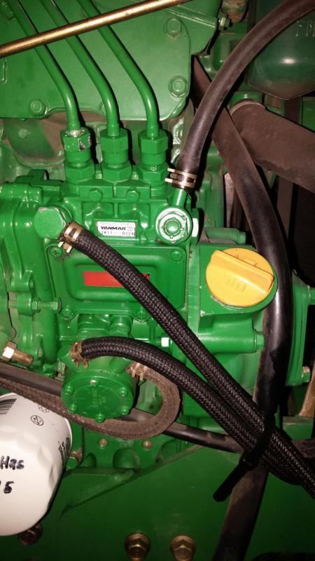 JD 870 Injector pump problems ?