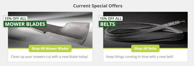 15 percent off belts and blades.jpg