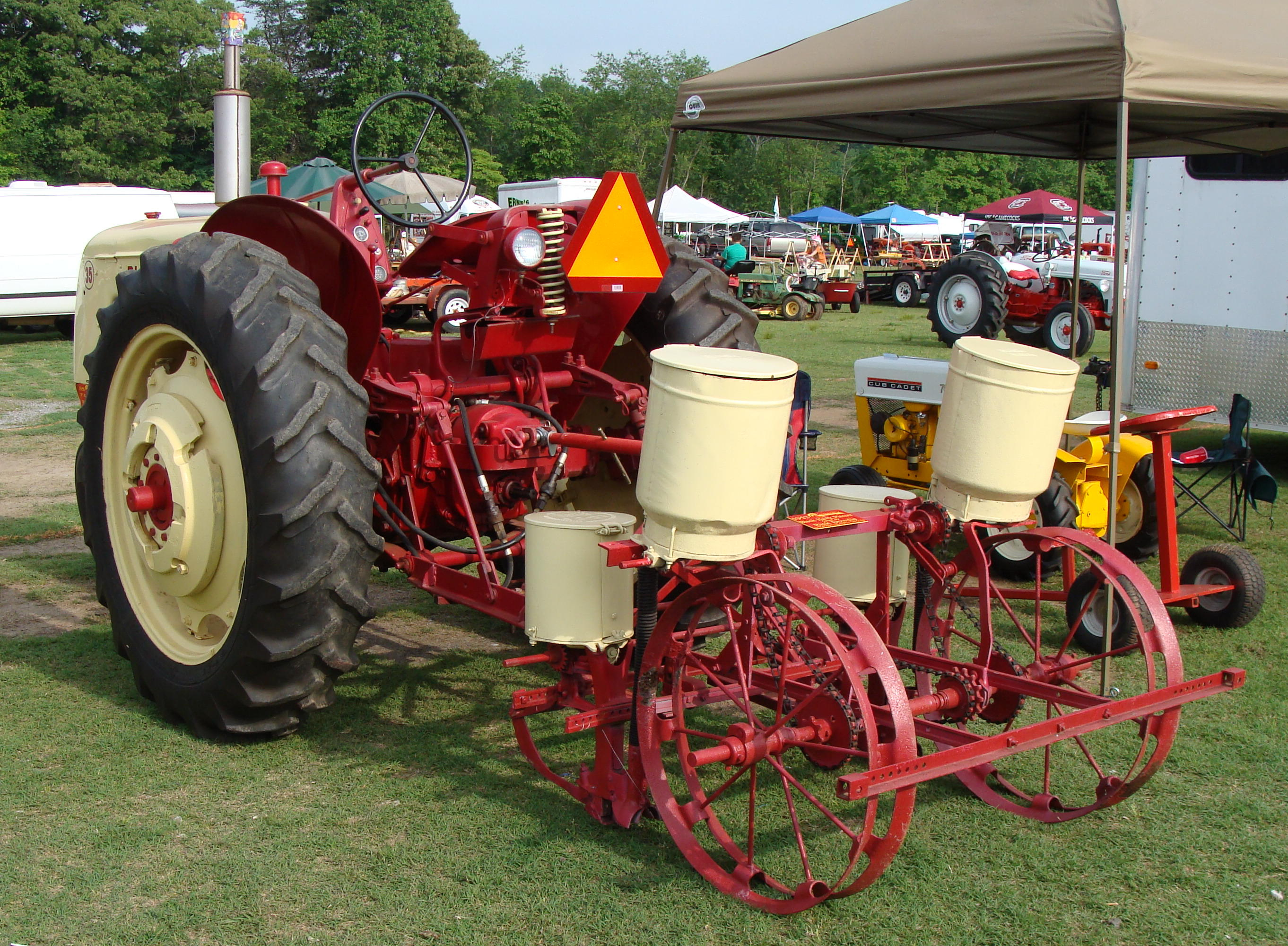 Click image for larger version.  Name:1956 Blackhawk 35 with seed planter.jpg Views:6 Size:994.7 KB ID:712868