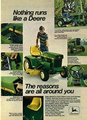 Vintage John Deere L And G Ads