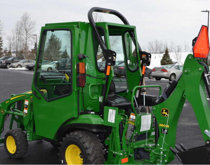 Curits Cabs for 2018 2025R with forward ROPS