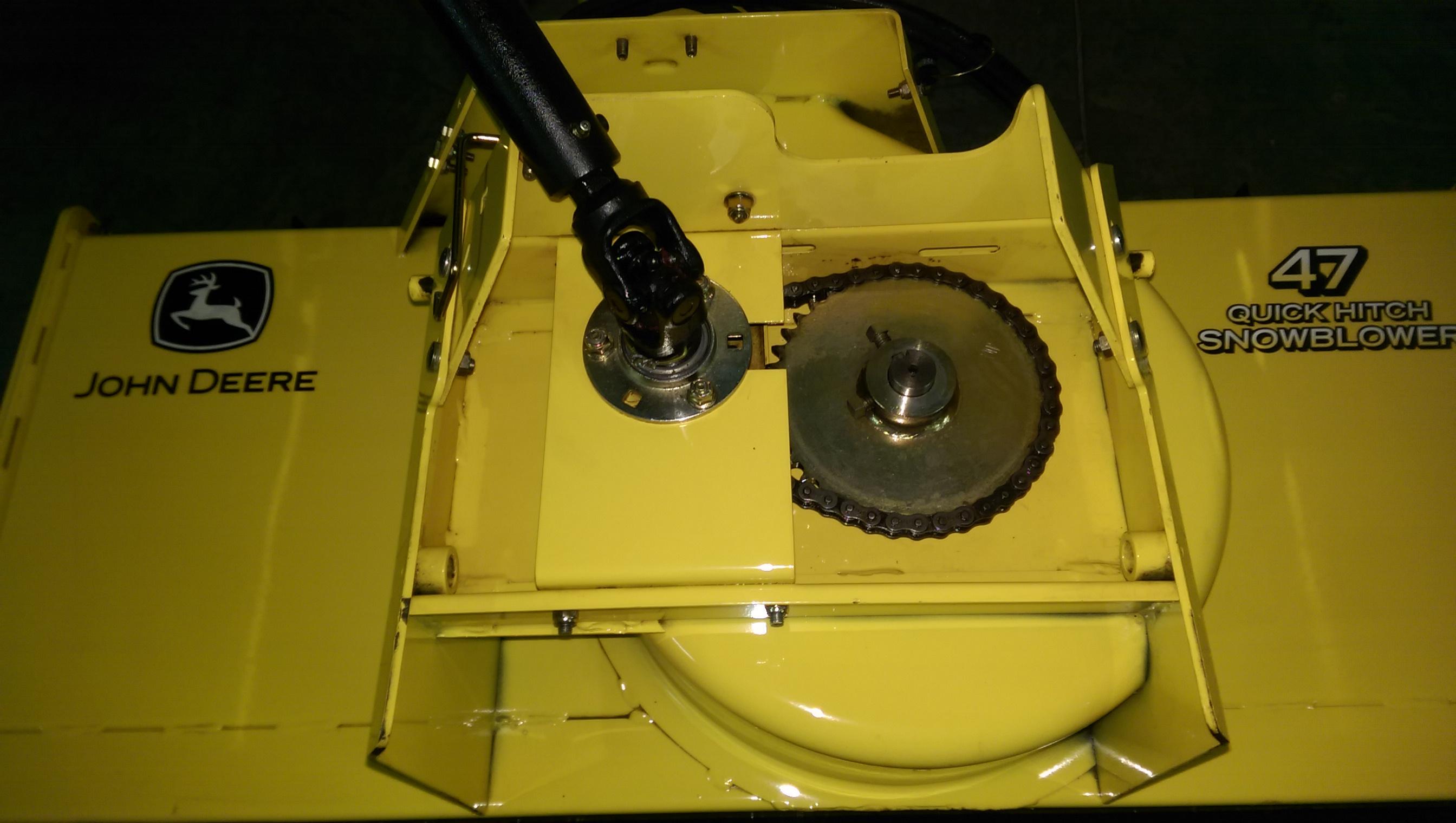 Oil Blower Impeller Housing : Snowblower impeller installation