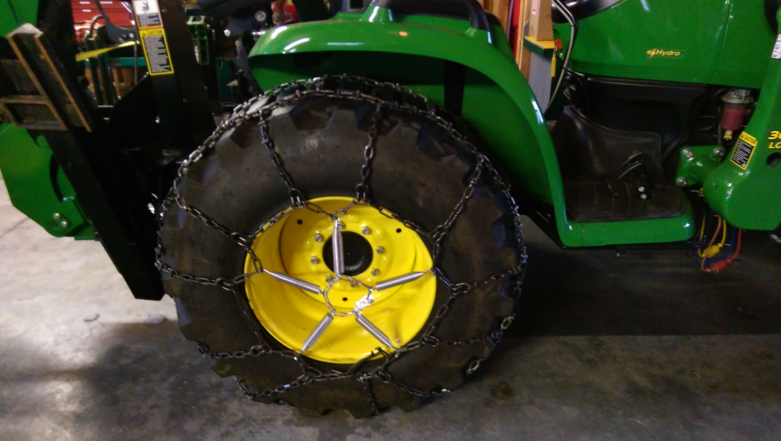Anyone Have Rear Tire Chains On Their 3000 Deere Page 2