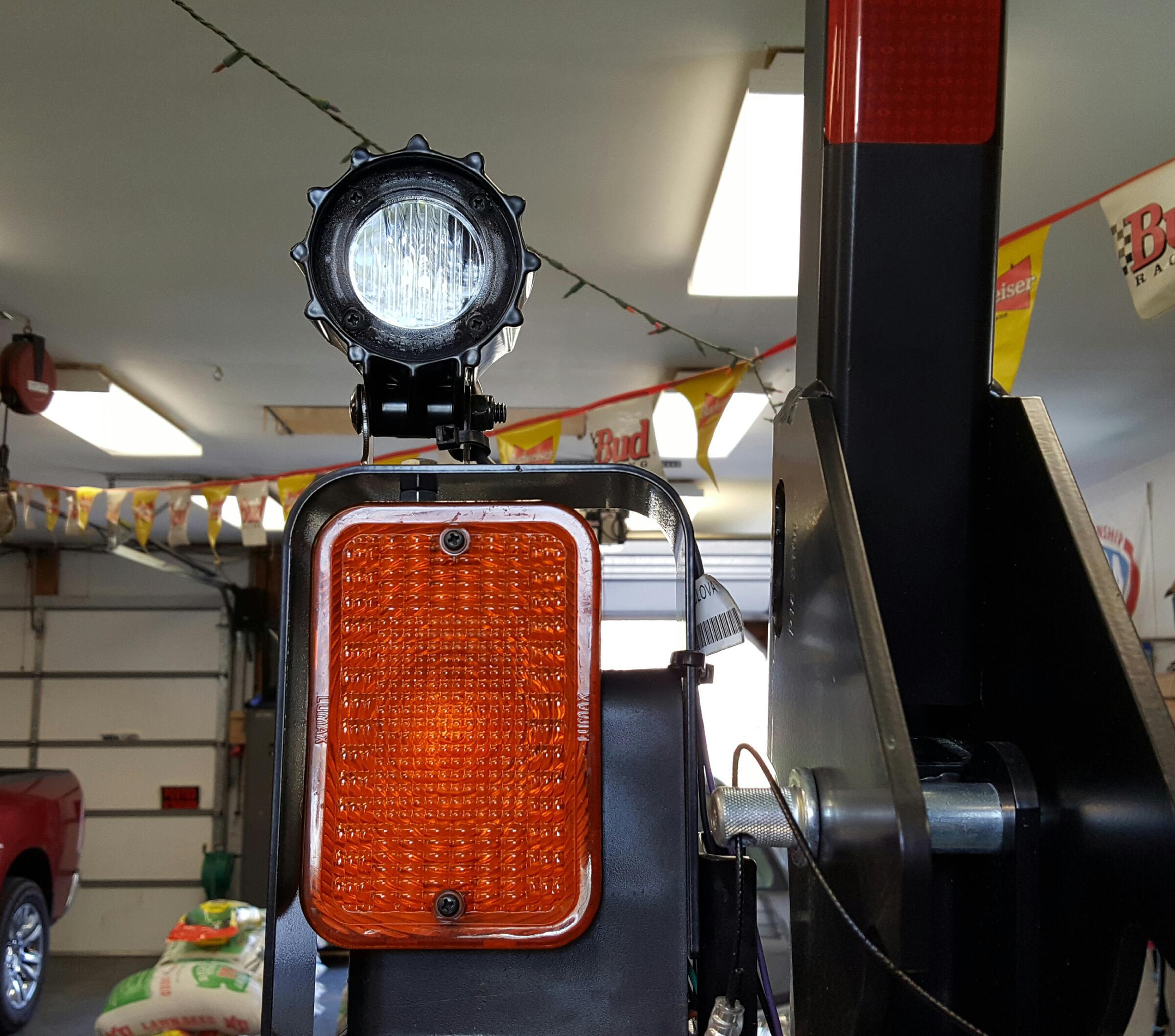 new 1025r optional led lights and brackets
