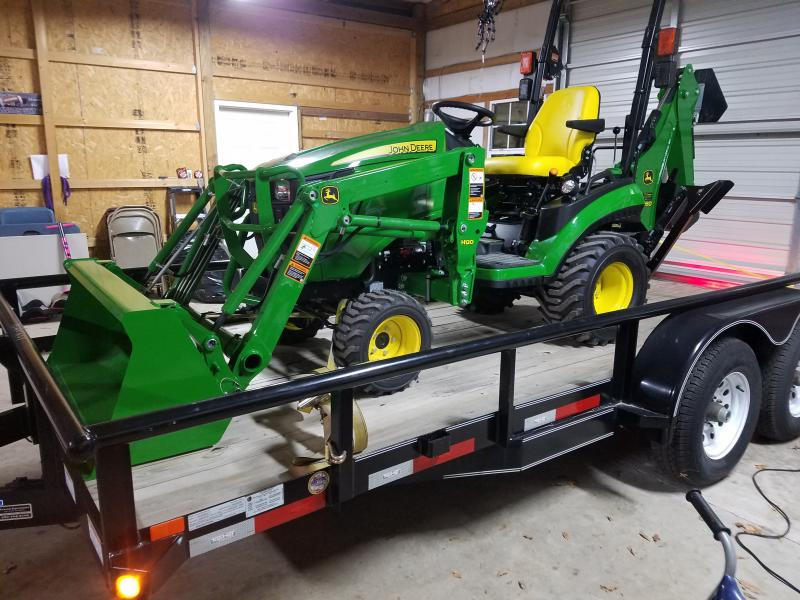 John Deere Tractor Tie Downs : R tlb showed up
