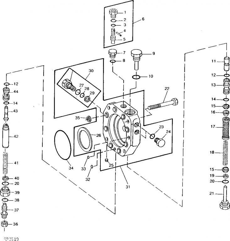 JD 2040 Hydraulic Problem