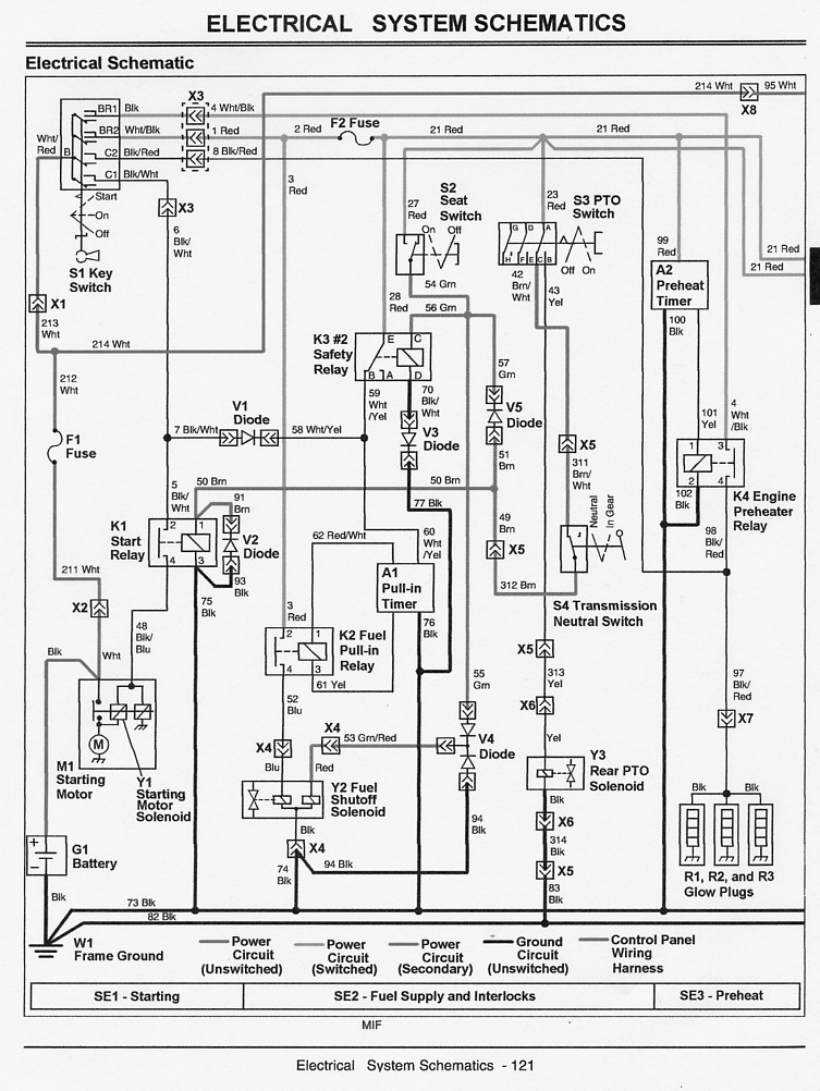 2305 won't start - page 2 john deere 420 wiring diagram colored