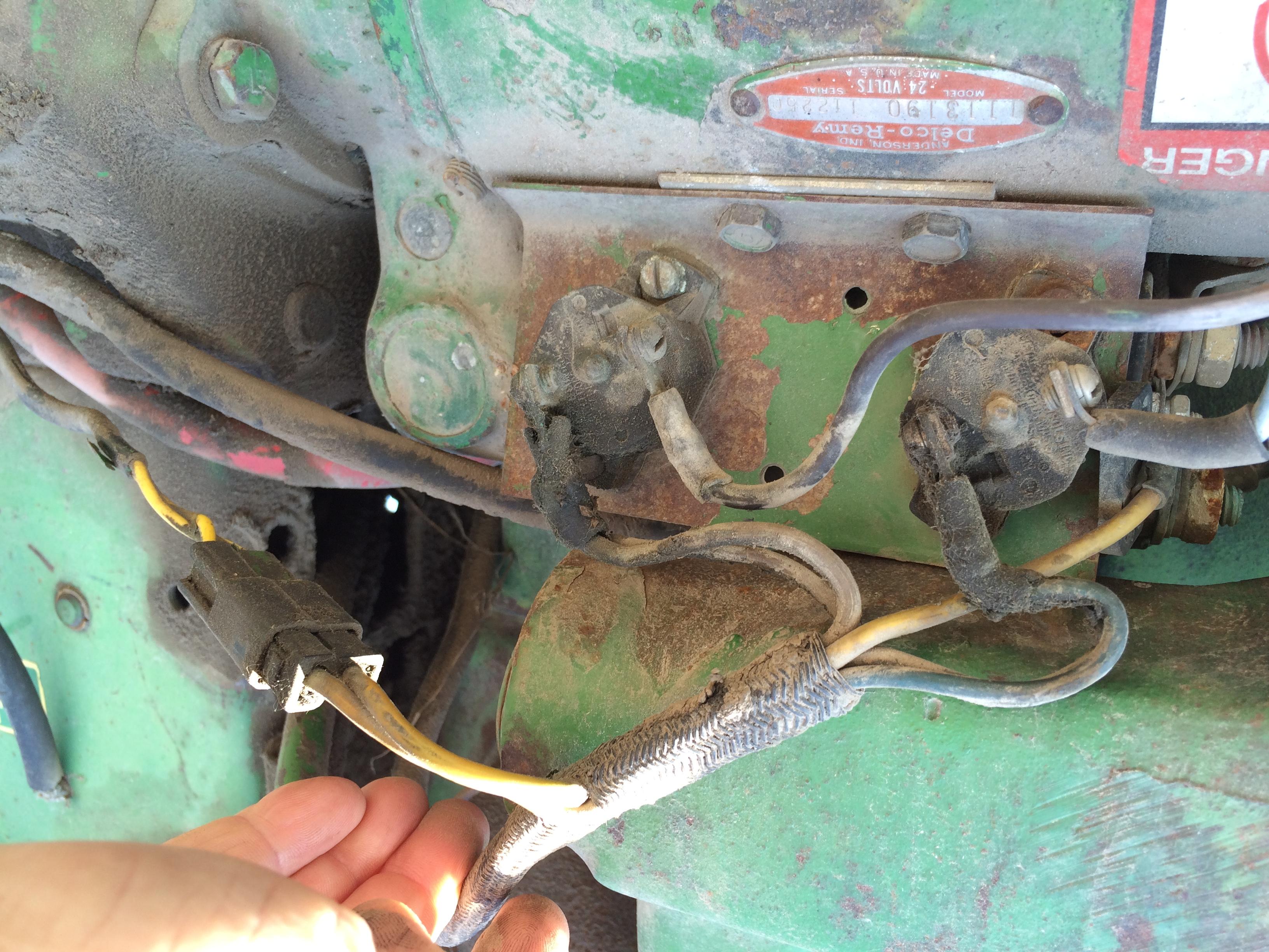 john deere 3020 gas wiring diagram 4020 starter problem 24volt  4020 starter problem 24volt