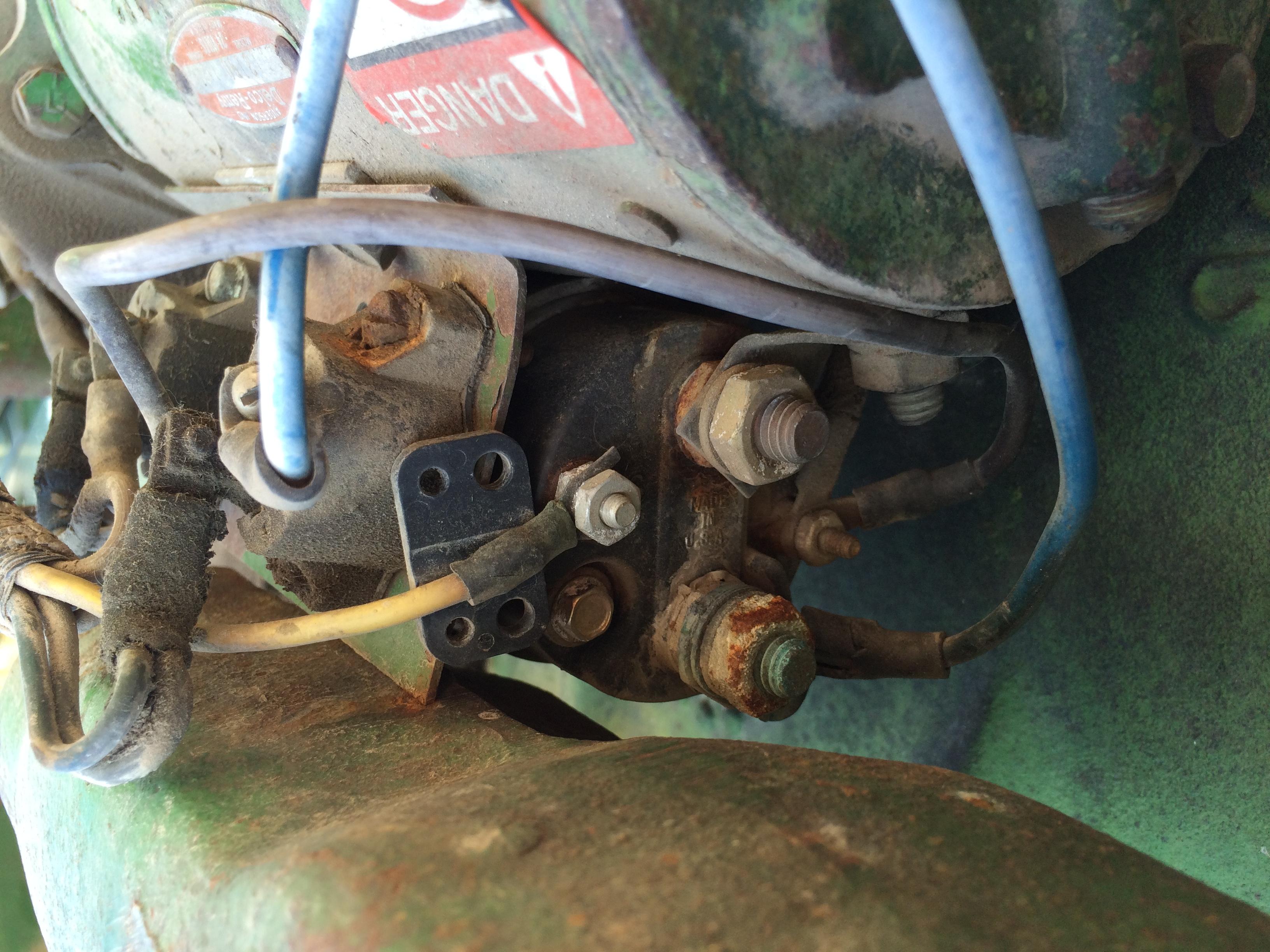 4020 starter problem 24volt – Jd 4020 Tractor Engine Diagram