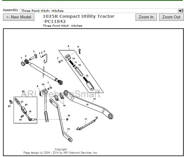 John Deere 3 Point Hitch Parts Diagram Best Deer Photos Water