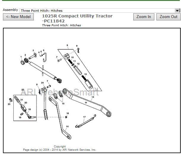 John Deere 3 Point Hitch Parts Diagram Best Deer Photos Water