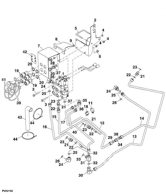 3038e hydraulics
