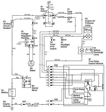 Change in electrical circuit on a 420 | Green Tractor TalkGreen Tractor Talk