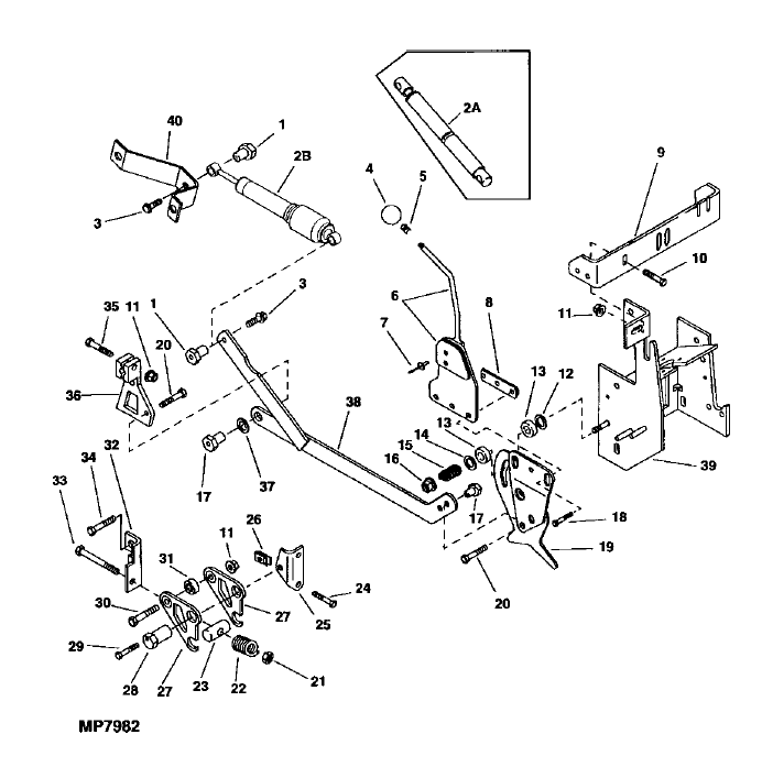 Help me with my Hydrostatic control Linkage JD 318