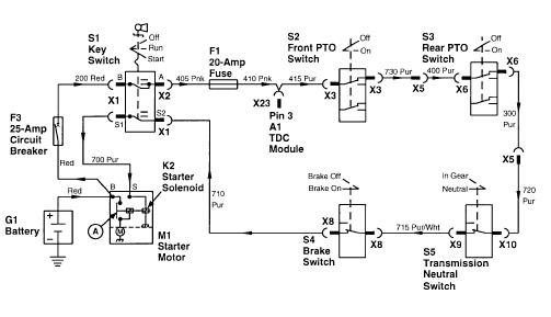 John Deere 322 – John Deere 322 Wiring-diagram