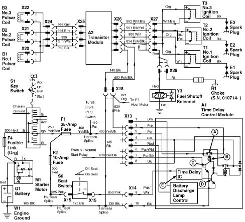 wiring diagram for starter on 4430 bush hog