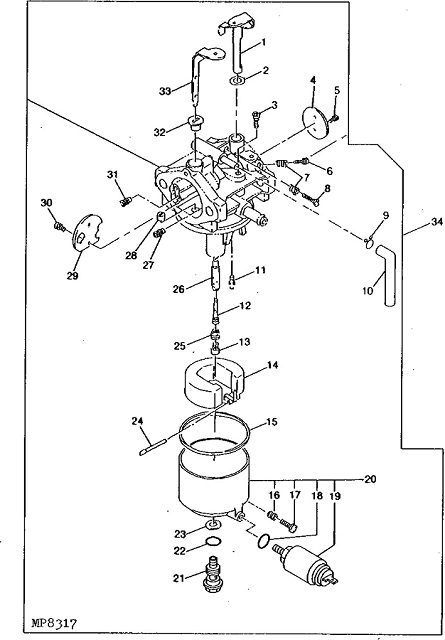 LX188 question Page 2 – John Deere Lx188 Engine Parts Diagram