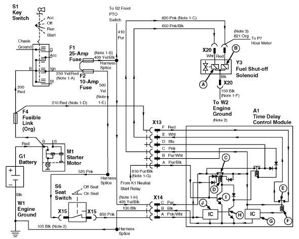 John Deere 332 PTO switch / 25 amp fuse problems | Page 2 | Green Tractor  TalkGreen Tractor Talk