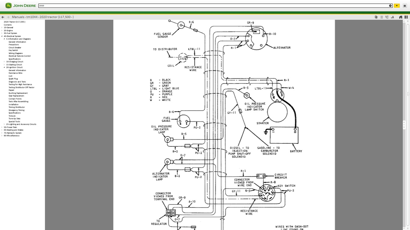 help with ignition system on 1977 jd401b with 4 219 gas engine diesel ignition switch wiring diagram