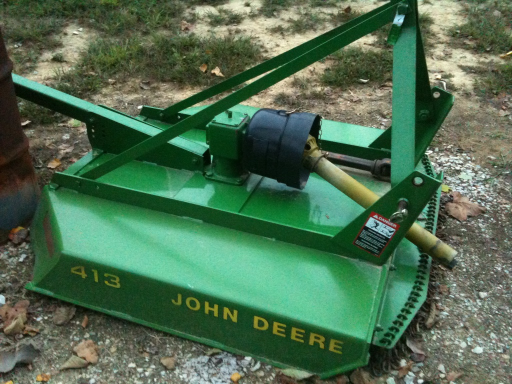 4 John Deere 413 Rotary Cutter Bush Hog