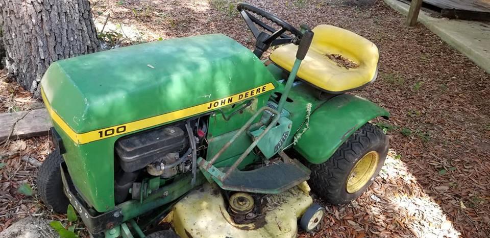 John Deere 100 Lawn Tractor Green Tractor Talk
