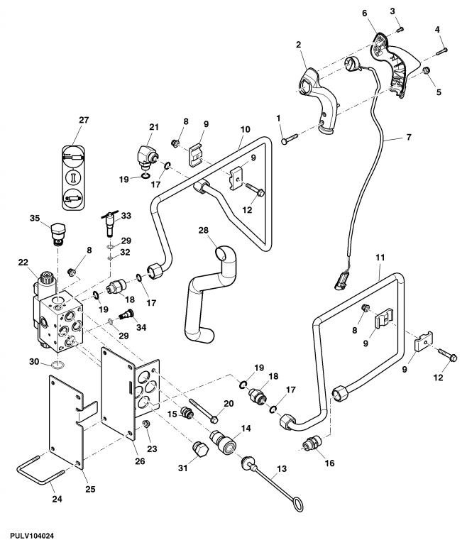 JD 4520 Rear SCV valve vibration /whine
