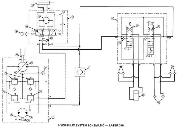 Click image for larger version.  Name:5-port PS on 318 -  hydraulic schematic.JPG Views:54 Size:32.9 KB ID:685950