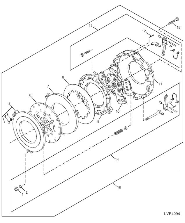 how to adjust the clutch on a 5200 series