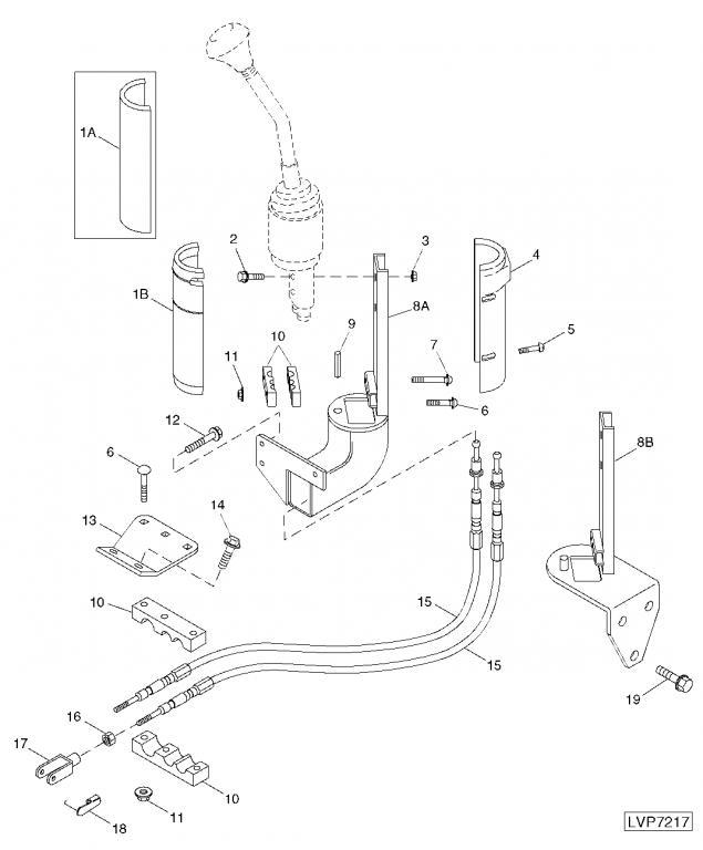 540 Loader joystick control problem