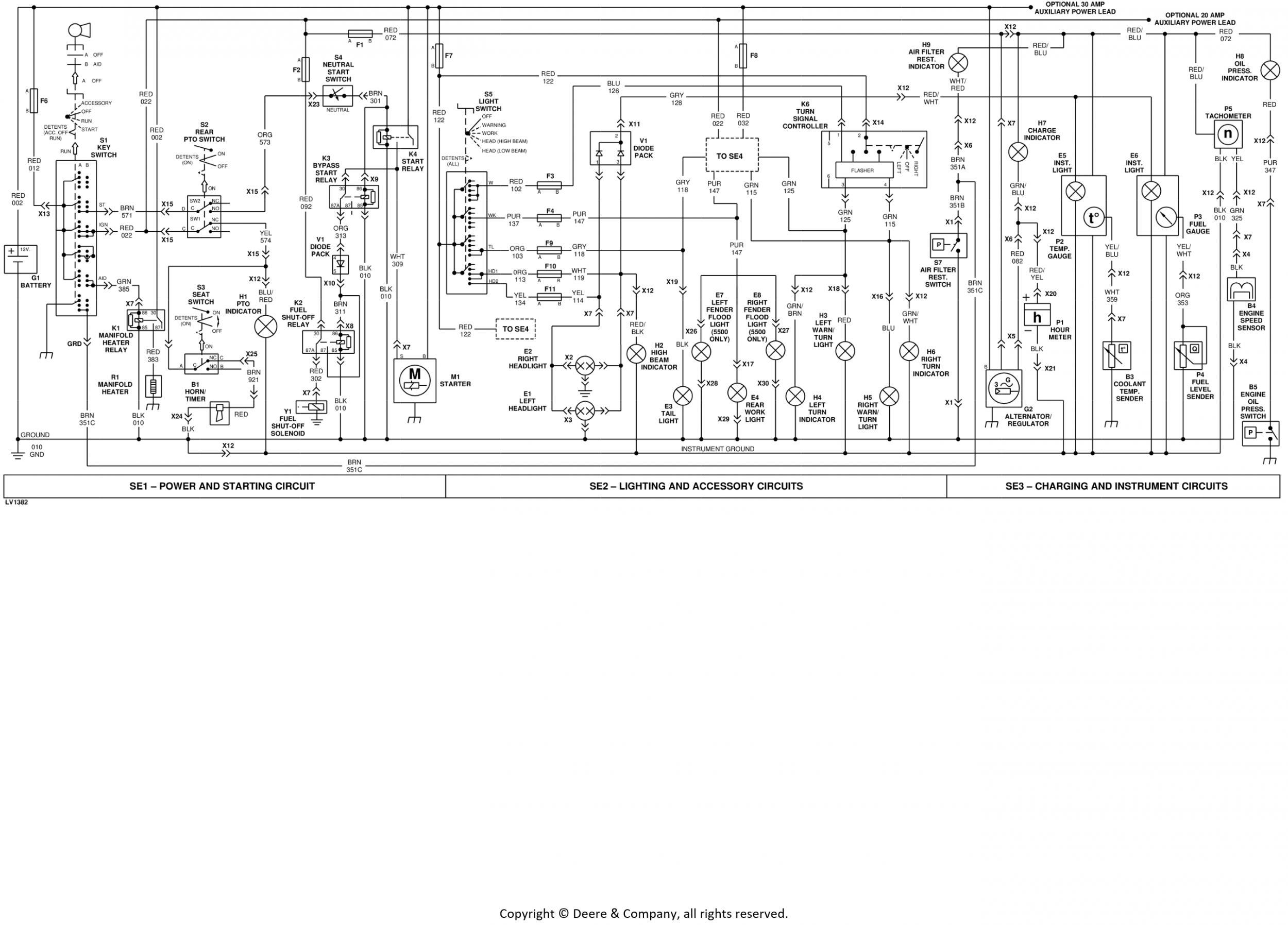 5400 Tachometer question..Please help!! | Green Tractor Talk | John Deere Tach Wiring Diagram |  | Green Tractor Talk