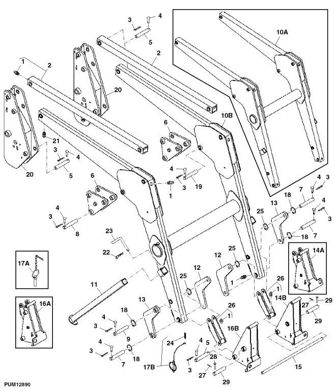 Front End Loader Parts Diagram : Sl loader repair