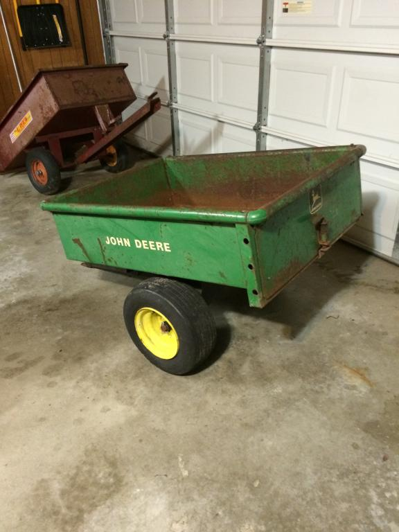 Log Splitter For Sale >> john deere 10 steel cart