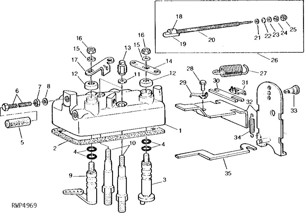32 John Deere 830 Parts Diagram