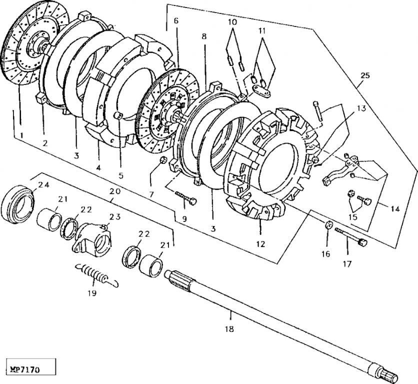 Attachment on Zetor Parts Diagram
