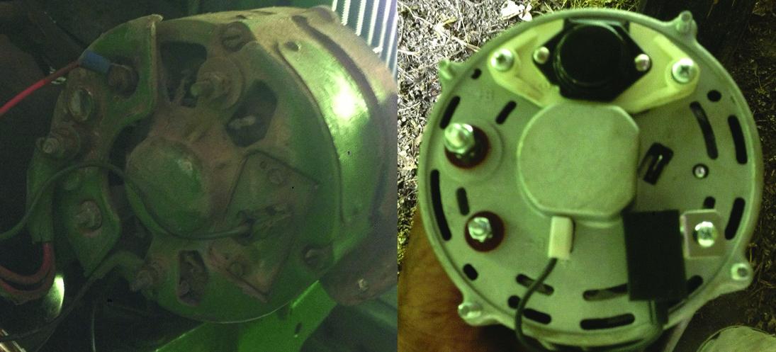 JD 1020 - Guidance Needed on Alternator Wiring Electrical Wiring Diagram John Deere Tractor on