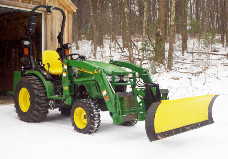 Tractor Snow Wing Blades : Extension wings for the deere plow