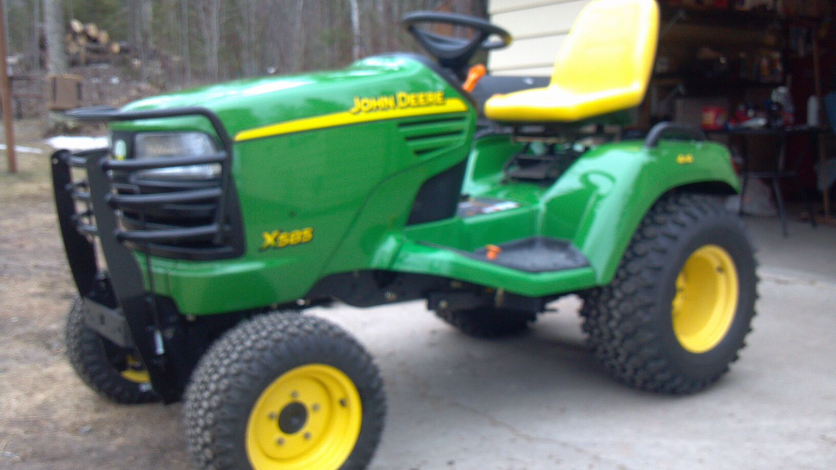 Garden Tractor Brush Guard : Brush guard question for