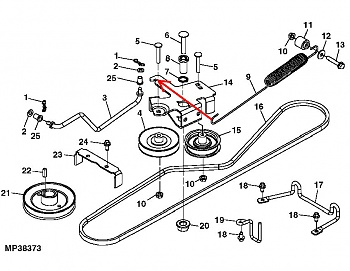 Click image for larger version.  Name:Belt Drive and Idler Pulley.jpg Views:43 Size:41.5 KB ID:627377