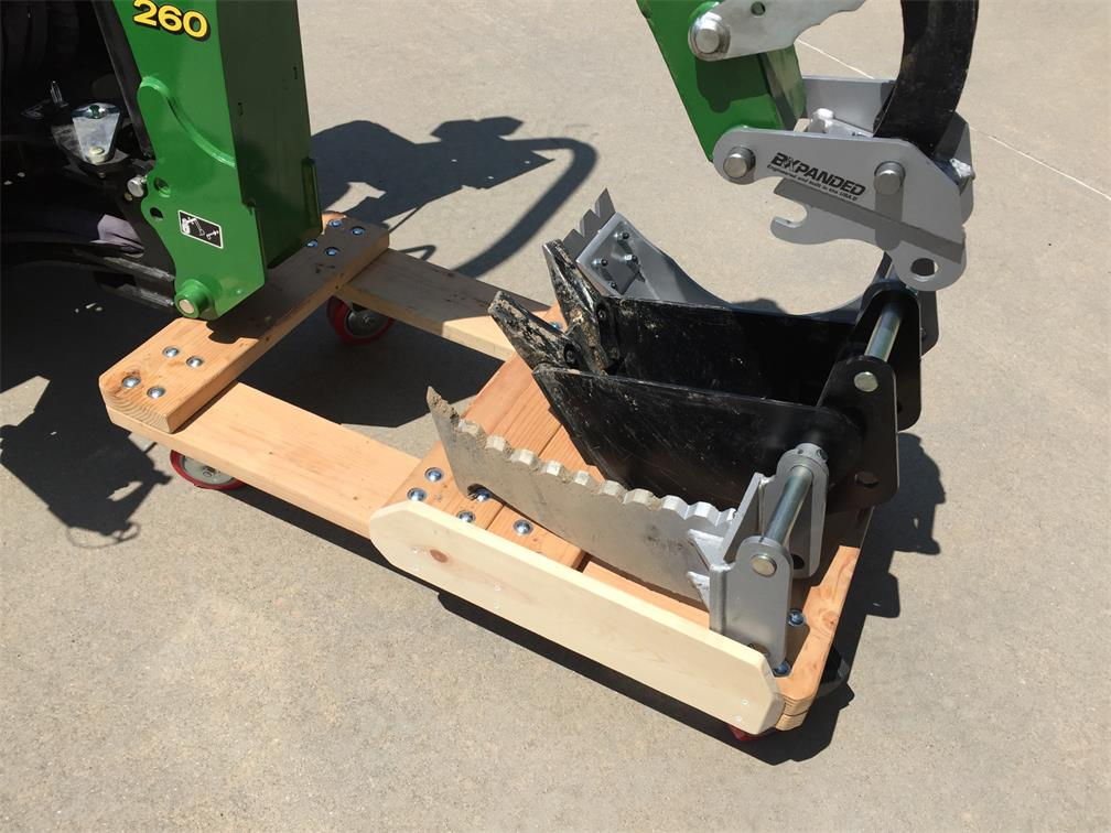 260 Backhoe Dolly Build - Page 4