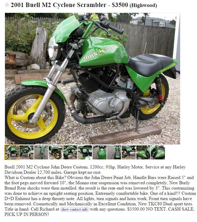 The John Deere/Buell Motorcycle!