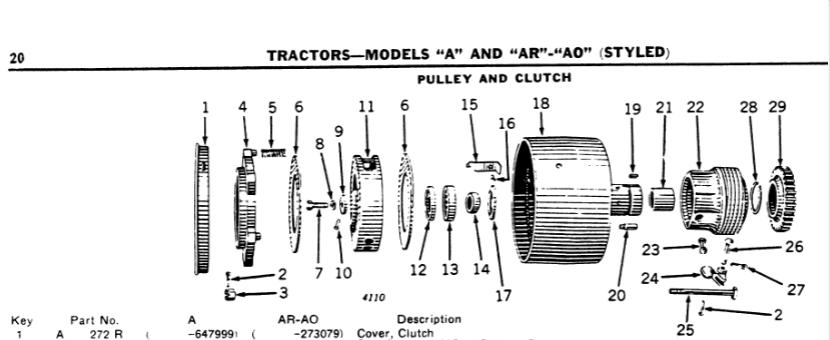 john deere g wiring diagram john deere a clutch problem green tractor talk  john deere a clutch problem green