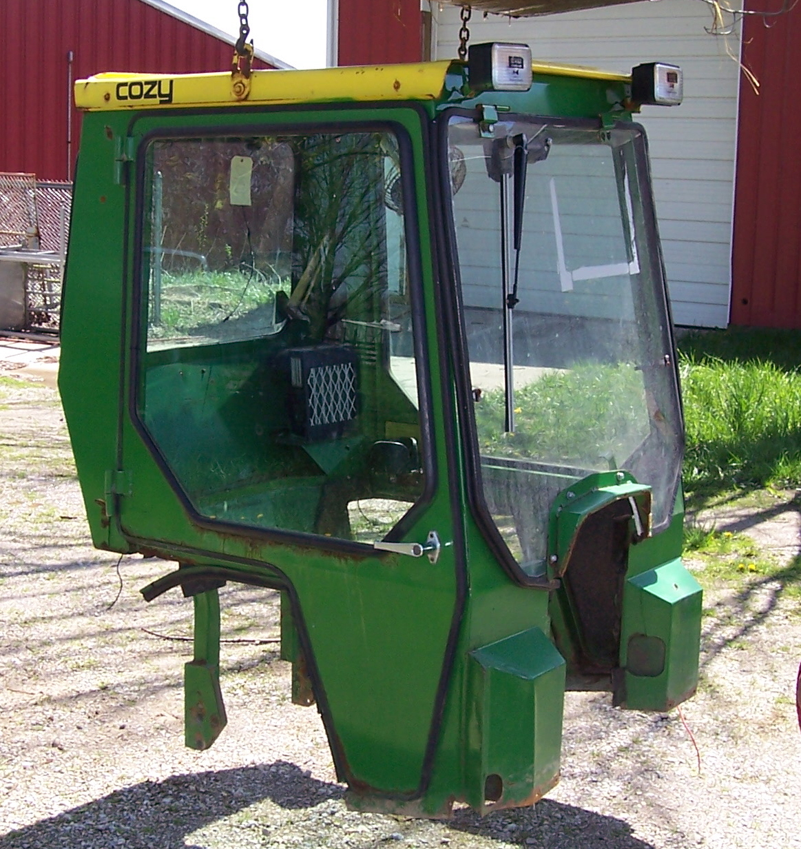JD 755, 855, 955 Cozy hard side cab for sale