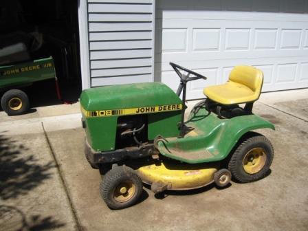 Rough Old John Deere 111 Green Tractor Talk
