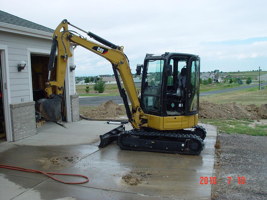 Mini Excavator, What size?