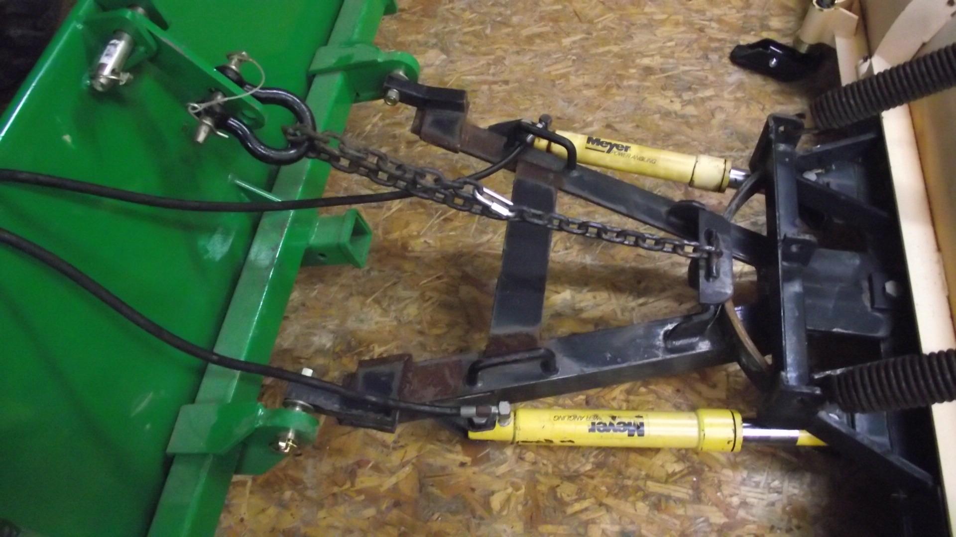 John Deere 1026r Loader Snow Plow : Western snow plow on r page