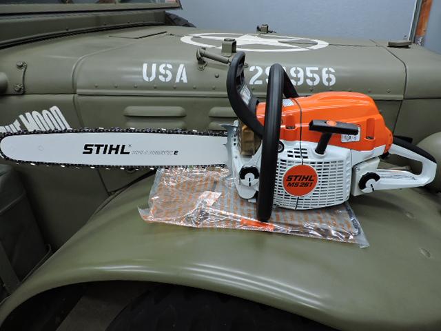 MS261 Stihl saw