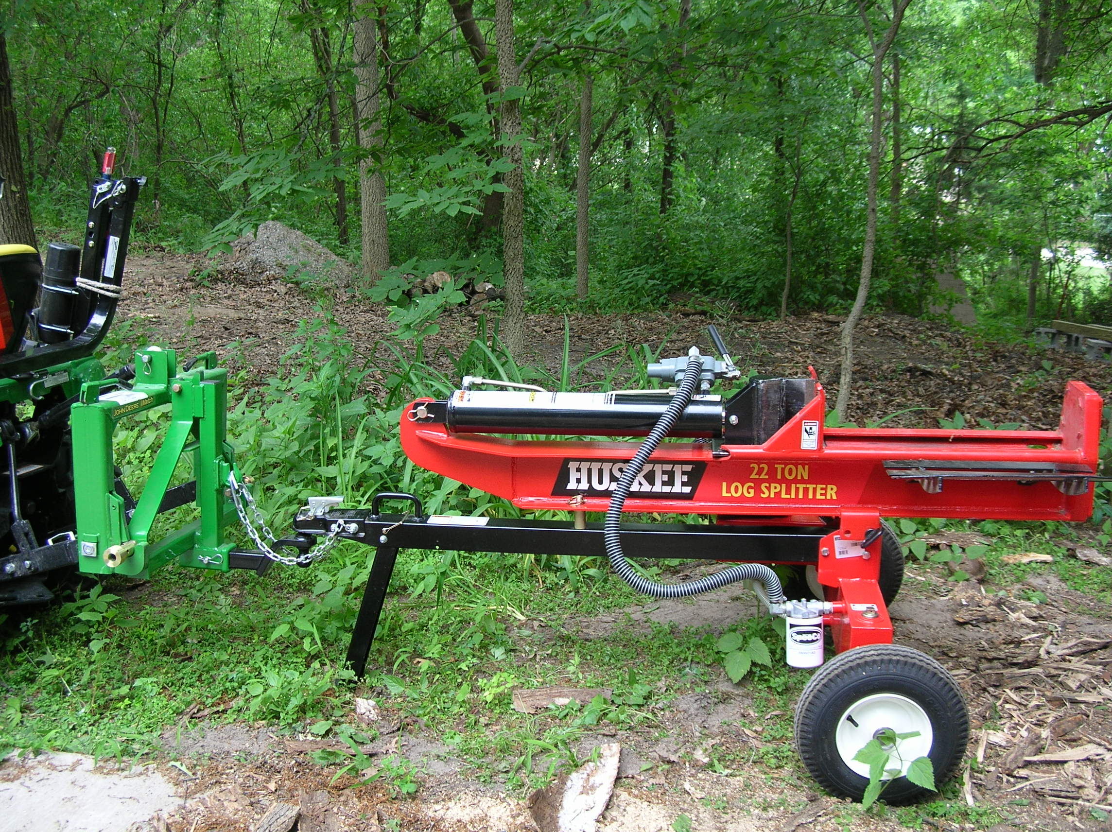 Hooking up a log splitter! - Page 2
