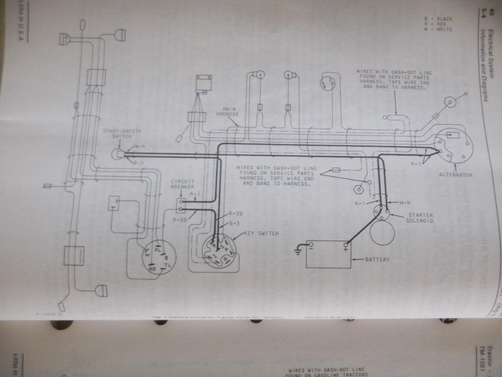 1830 Wiring Diagram Needed Green Tractor Talk